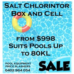 Pool Chlorinator Sale 998
